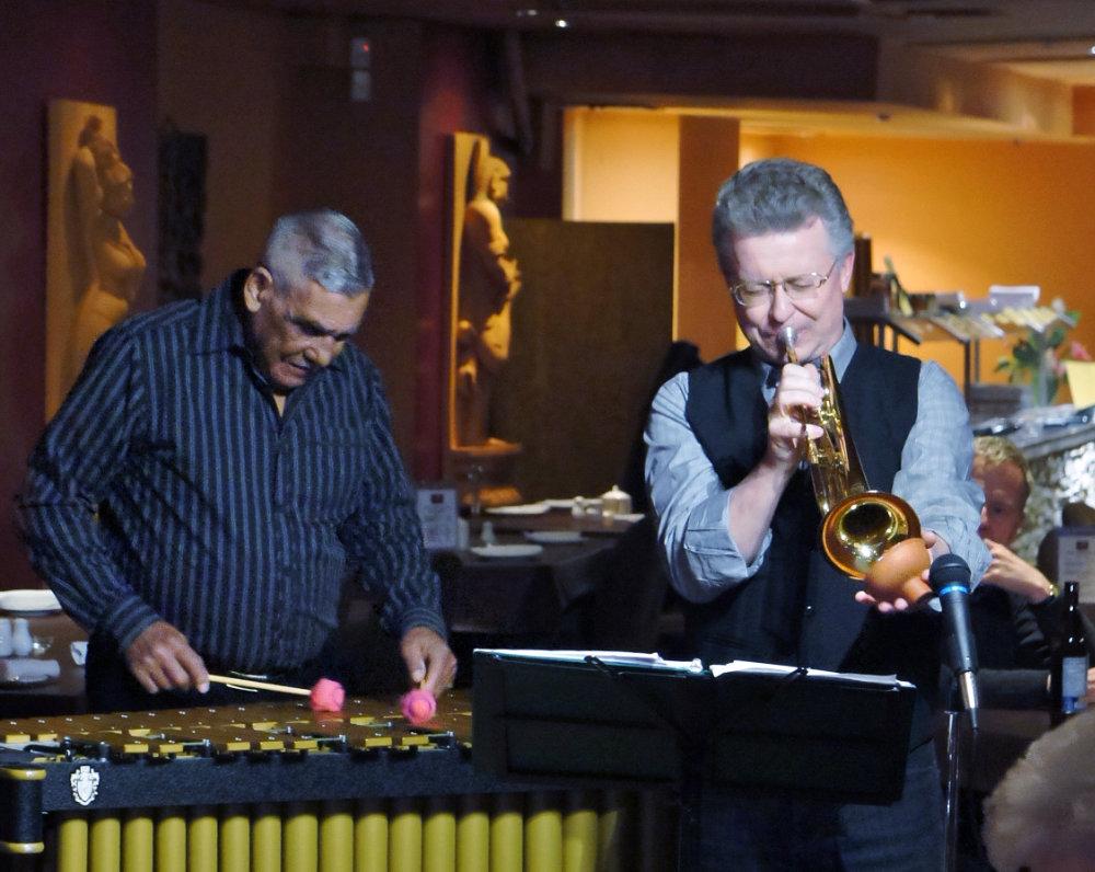 Dave Dunlop with Frank Wright - Canadian Jazz Quartet