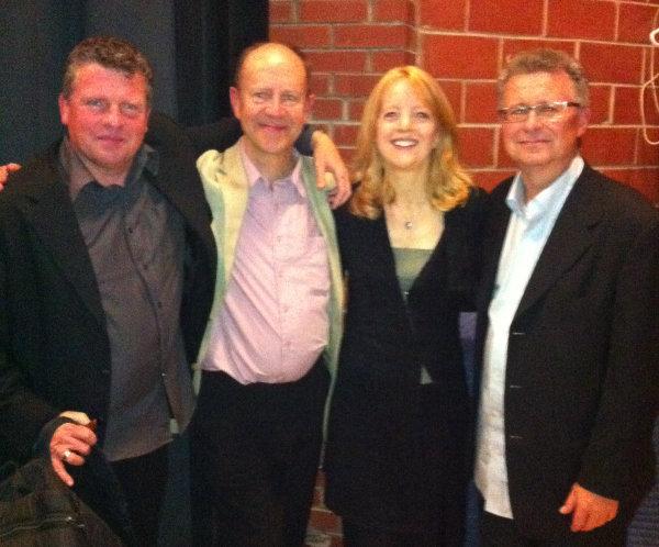Dave Dunlop with Maria Schneider